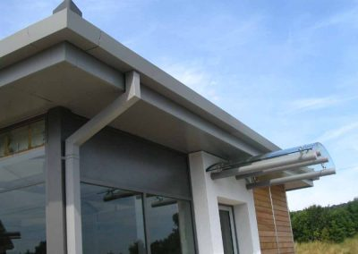 Aluminium Fascias, Soffits and Guttering