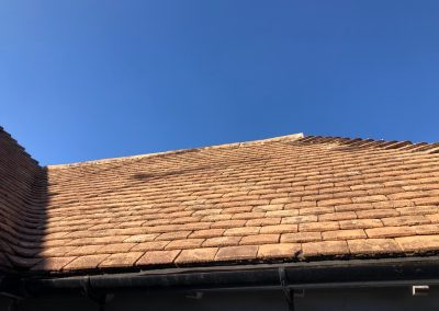 After Roof Cleaning & Moss Removal